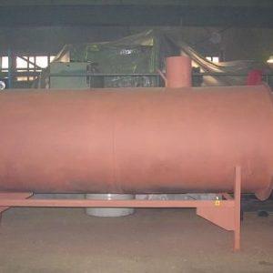 Твердотопливный воздушный теплогенератор