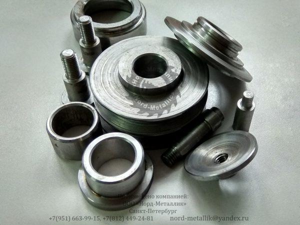 Различные детали из металла